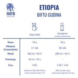 Jak zrobić: Etiopia Biftu Gudina - HAYB Speciality Coffee