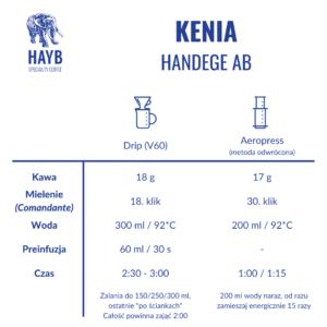 Jak zrobić: Kenia Handege AB