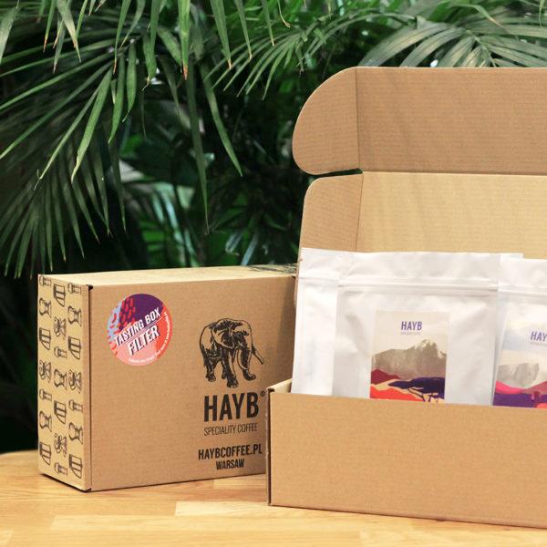 Próbki kaw - HAYB Tasting Box
