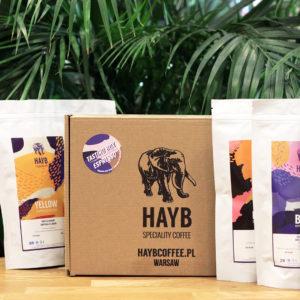 HAYB Tasting Box - degustacyjny zestaw próbek kaw pod espresso