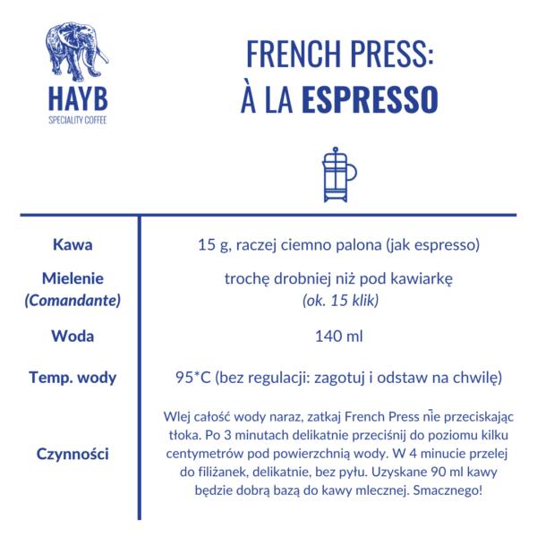 Jak zrobić: French Press espresso