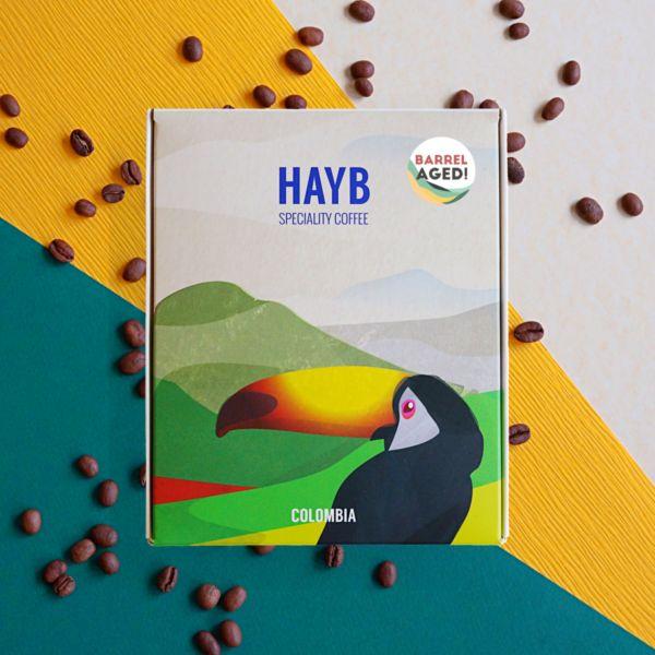 Kawa Barrel Aged - Kolumbia Finca Alto Cielo