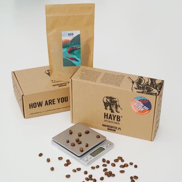 Urodzinowy Zestaw: waga + Tasting Box