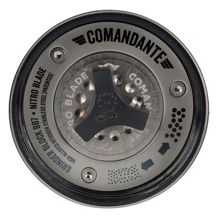 regulacja kilków Comandante
