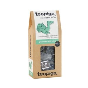Herbaa teapigs Green Tea with Mint