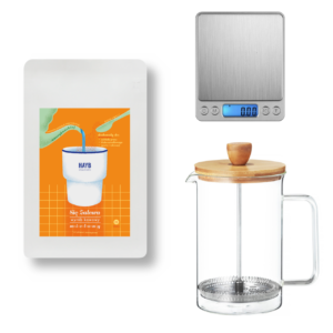 Zestaw SIĘ ZALEWA + French Press 600ml