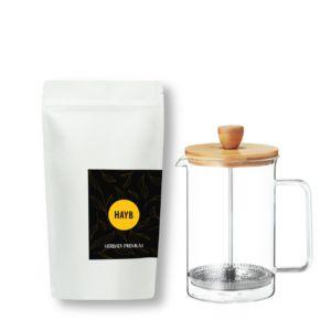 zestaw do herbaty - french press i herbata premium