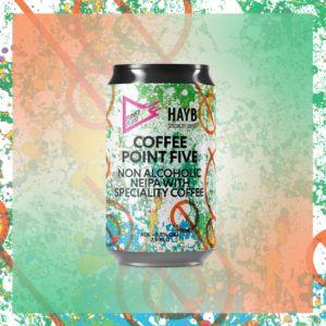 Piwo bezalkoholowe z kawą - HAYB x Funky Fluid