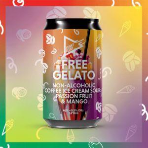 free gelato HAYB x Funky Fluid